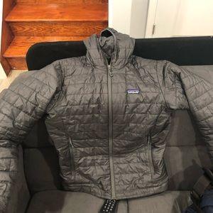 Patagonia Nano Puff Hooded Full Zip Jacket